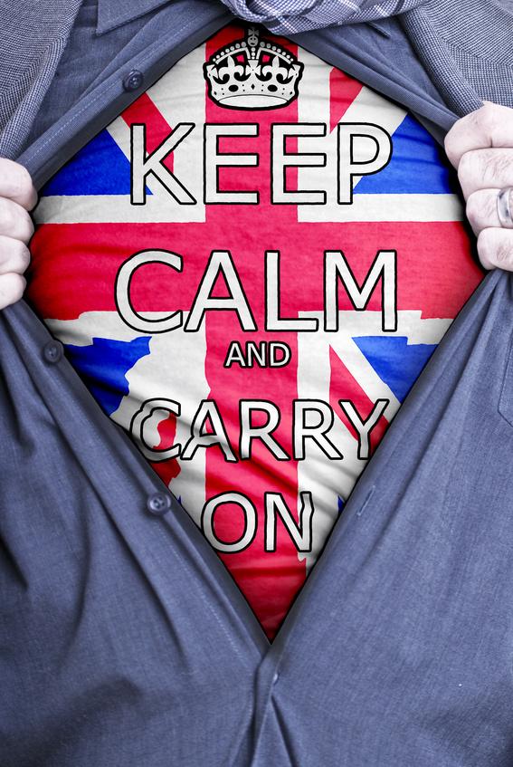 Keep Calm Businessman