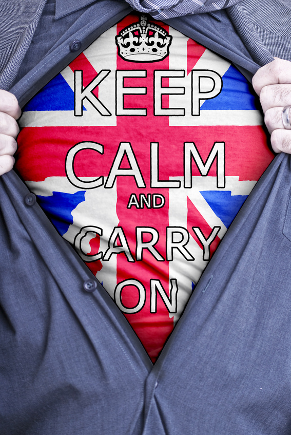 Keep Calm Businessman