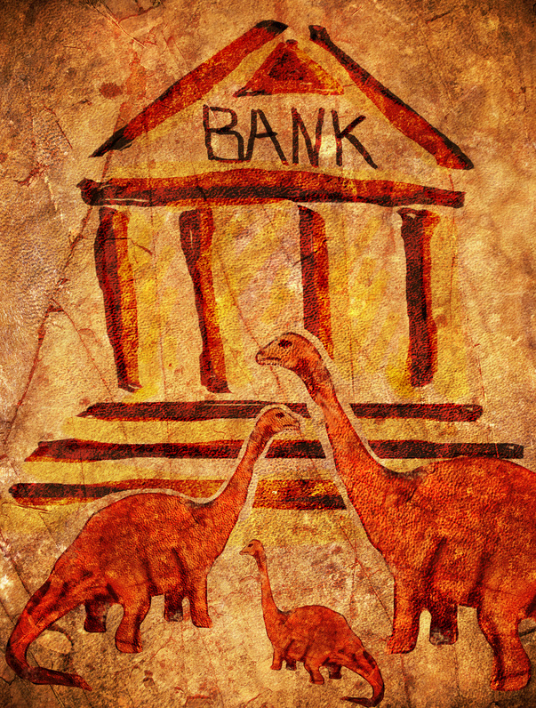 prehistoric bank